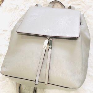 kate spade wilder grey street clocktower backpack